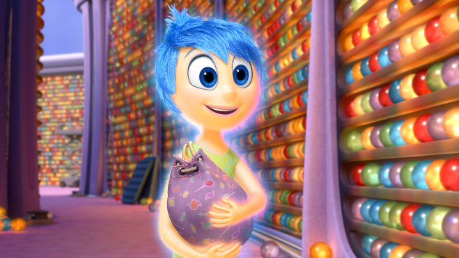 "Joy (voice of Amy Poehler), the main and most important of 11-year-old Riley's five Emotions, explores Long Term Memory in Disney•Pixar's ""Inside Out."" Directed by Pete Docter (""Monsters, Inc.,"" ""Up""), ""Inside Out"" opens in theaters nationwide June 19, 2015. ©2014 Disney•Pixar. All Rights Reserved."